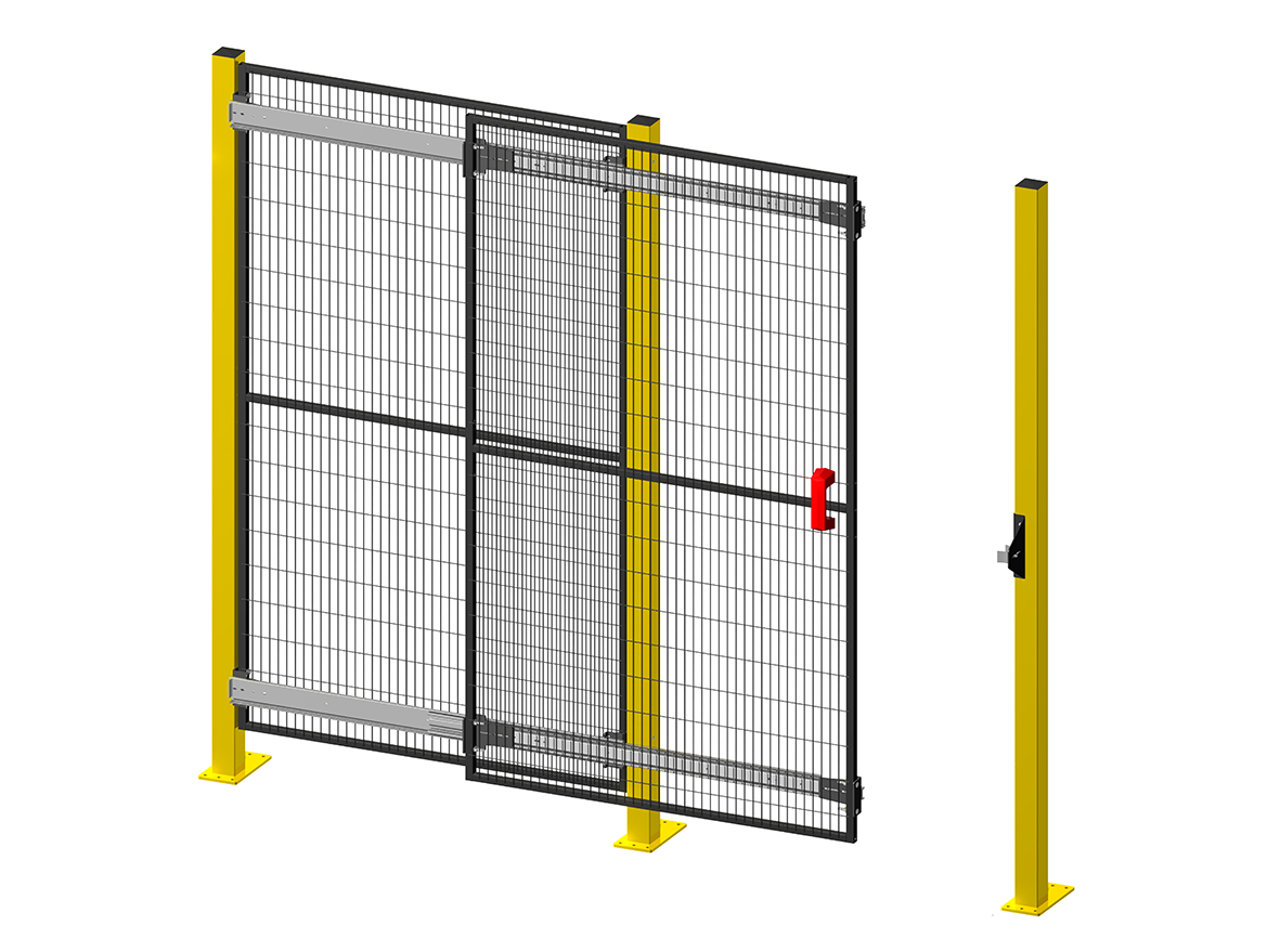 New 2016 Sliding Doors with telescopic guides TX - Single
